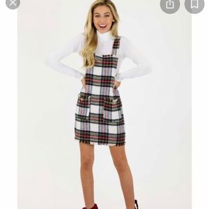 Judith March plaid jumper